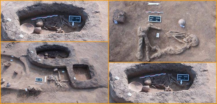 Mısır'da Hiksoslar dönemine ait mezarlar keşfedildi
