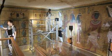 Firavun Tutankhamunun mezarında 10 yıldır süren restorasyon bitti