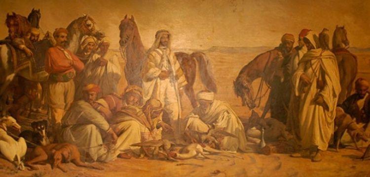 Çölde Av tablosu Resim Müzesi'ne taşınıyor