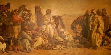 Çölde Av tablosu Resim Müzesine taşınıyor