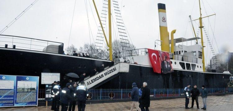 Gazi Alemdar Müze Gemisinde Milli Mücadele'ye kaçışın 98. Yılı kutlandı