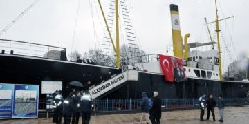 Gazi Alemdar Müze Gemisinde Milli Mücadeleye kaçışın 98. Yılı kutlandı