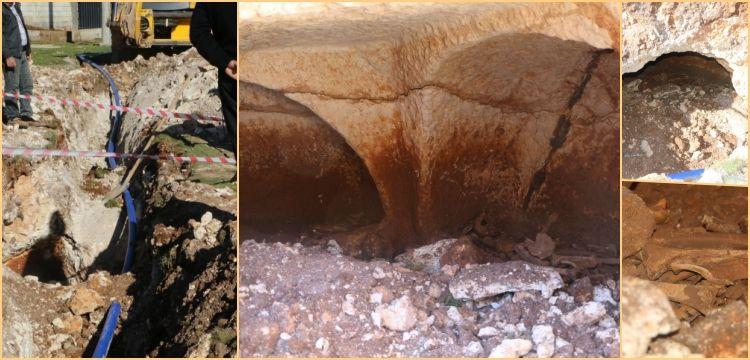 Şanlıurfa'da su şebekesi inşaatında Roma devri mezar odası bulundu