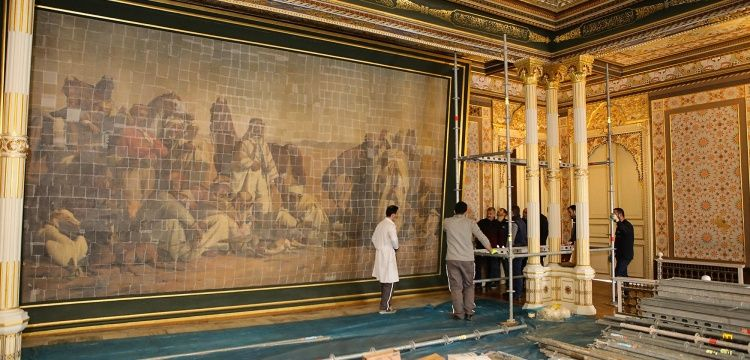 En büyük tablo müzeye taşındı