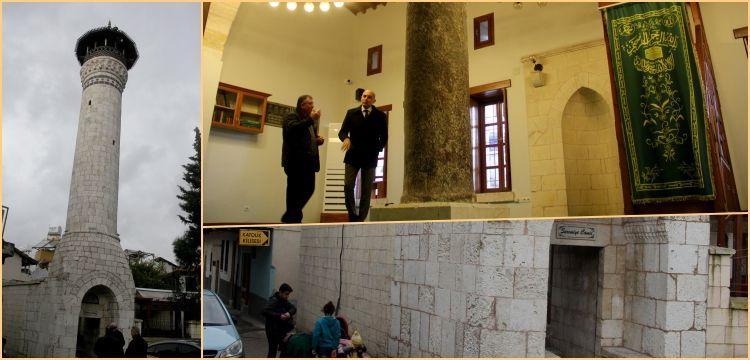 Hatay'daki Sarımiye Cami  yeniden ibadete açıldı