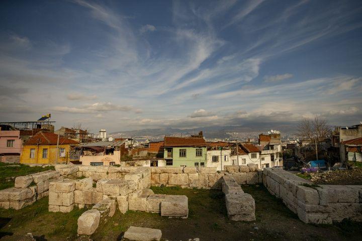 İzmir'de Antik Çağ 'Fun'larına ait heykeller bulundu