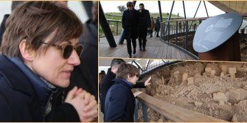 Mirjana Spoljaric Egger Göbeklitepeyi şaşkınlıka seyretti