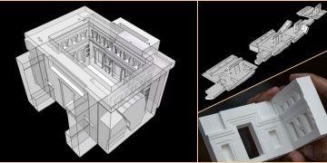 Yağmalanan Peru mimari şaheserinin 3 boyutlu modeli yapıldı