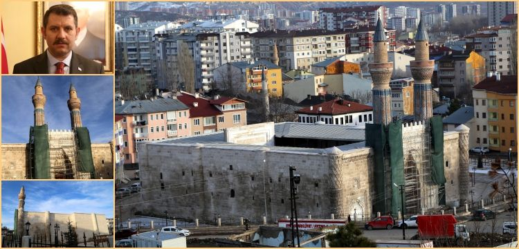 Sivas'ın mimari şaheseri Gök Medrese'nin restorasyon çilesi bitti