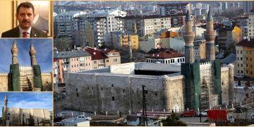 Sivasın mimari şaheseri Gök Medresenin restorasyon çilesi bitti