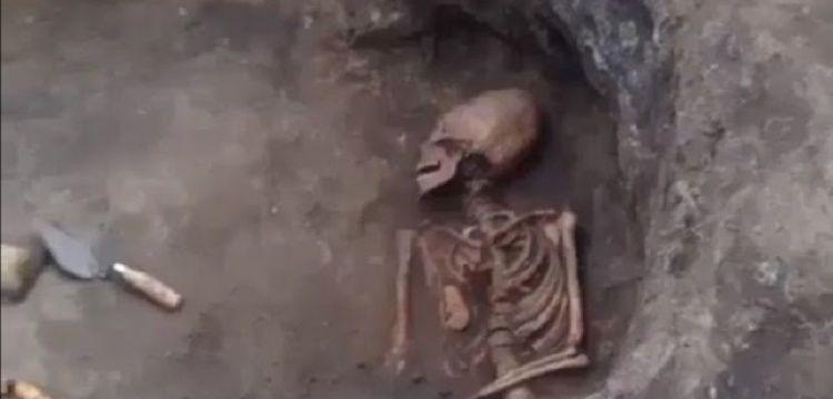 Rusyada keşfedilen uzun kafataslı iskelet