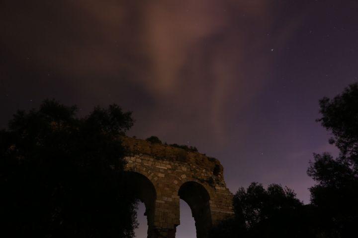 Tralleis antik kentinden gökyüzü manzaraları