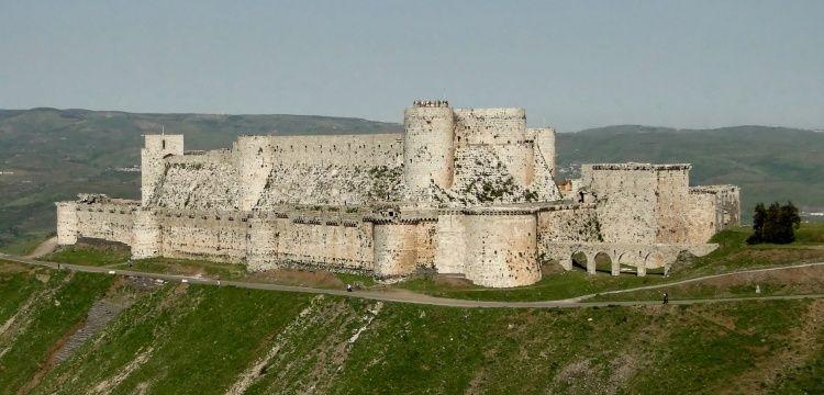 Suriye'deki Krak des Chevaliers kalesinde gizli oda bulundu