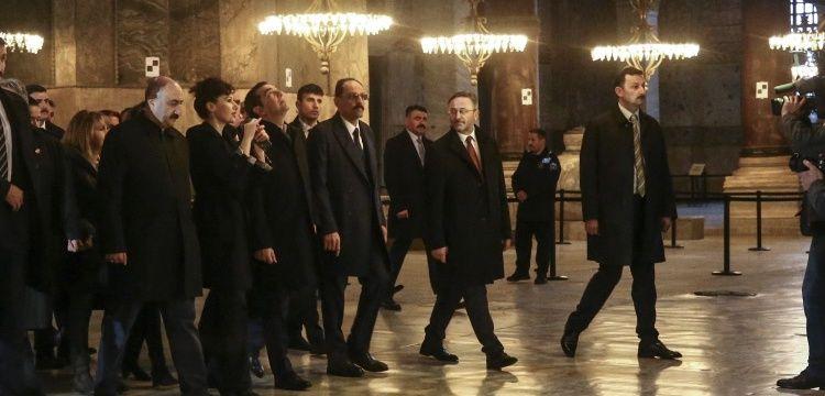 Çipras  Ayasofya Müzesi ve Heybeliada Ruhban Okulu'nu ziyaret etti