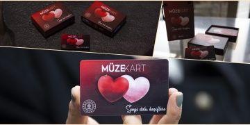 Sevgililer Günü için özel tasarlanan müze kartlar kalplere hitap ediyor