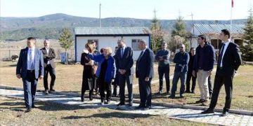 Şapinuva, Hitit Üniversitesi ve Ortaköy yöneticilerini ağırladı