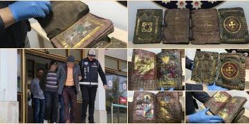 Paha biçilemeyen tarihi kitapları çöpte bulduklarını iddia ettiler