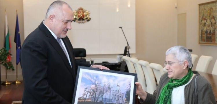Demir Kilise'yi restore eden Fikriye Bulunmaz'a Başbakan Borisov'dan övgü
