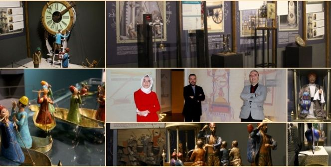 Cezerinin Olağanüstü Makineleri sergisi UNIQ Expoda açıldı