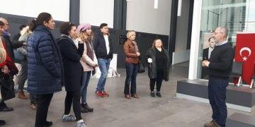 Gazeteciler ve arkeologlar arkeoloji haberciliği için İzmirde buluştu