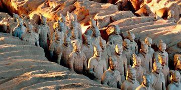 Çinin dev Terracotta Ordusuna 16 yeni asker eklendi