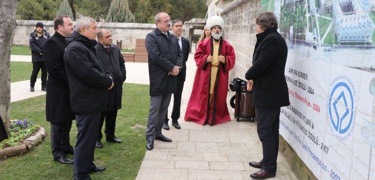 Emniyet Müdürleri Sultan II. Bayezid Külliyesi Sağlık Müzesi'ni gezdi