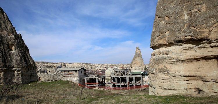 Nevşehir'deki tartışmalı otel inşaatı için yıkım kararı alındı