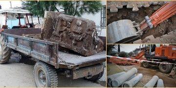 3 hafta önce mezar odası keşfeden ASKİ ekipleri bu kez lahit buldu