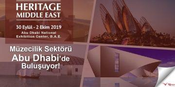 Müzeciler 30 Eylülde Abu Dabide Heritage Middle Eastte buluşacak