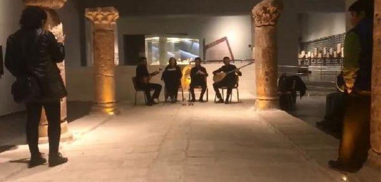 Şanlıurfa Arkeoloji Müzesi türkülerle şenlendi