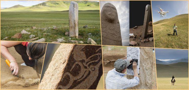 Antropologlar Moğolistan'ın Gizemli Dikili Taşlarını araştırıyor