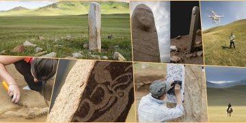 Antropologlar Moğolistanın Gizemli Dikili Taşlarını araştırıyor
