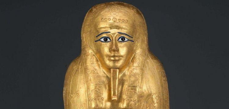 ABD, Mısır'dan çalınan altın kaplama lahiti ülkeye iade edecek