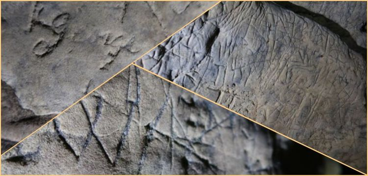 Scientists discover Witches marks designed to ward off evil in caves