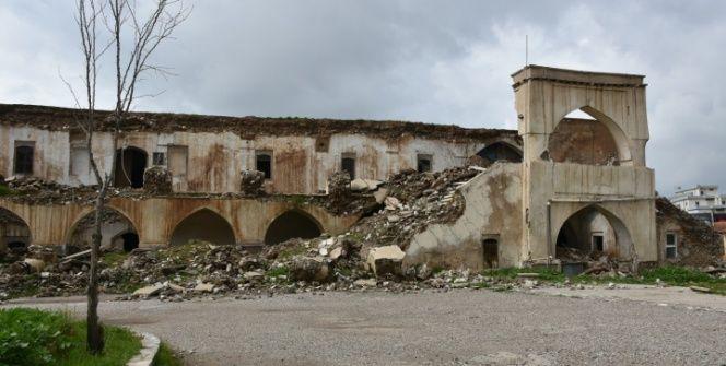 Kerkükte yıkılan tarihi Osmanlı Kışlası için restorasyon çağrısı