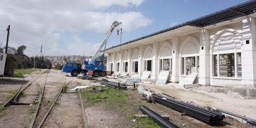 Hicaz Demiryolu Müzesi binası Ammanda TİKA tarafından yapılıyor