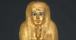 ABD, Mısırdan çalınan altın kaplama lahiti ülkeye iade edecek
