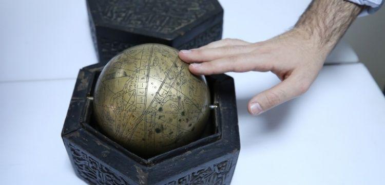 Ankara'da satılmak istenen takım yıldızlarını gösteren Küre-i Sema yakalandı