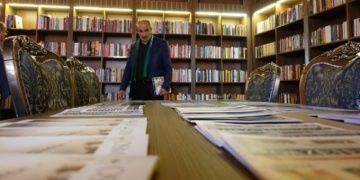 Rekonstrüksiyonla yeniden inşa edilen Kedili Tekke kütüphane oldu