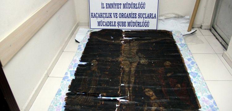Kayseri'de bulunan Çarmıhtaki İsa tablosu için rapor bekleniyor