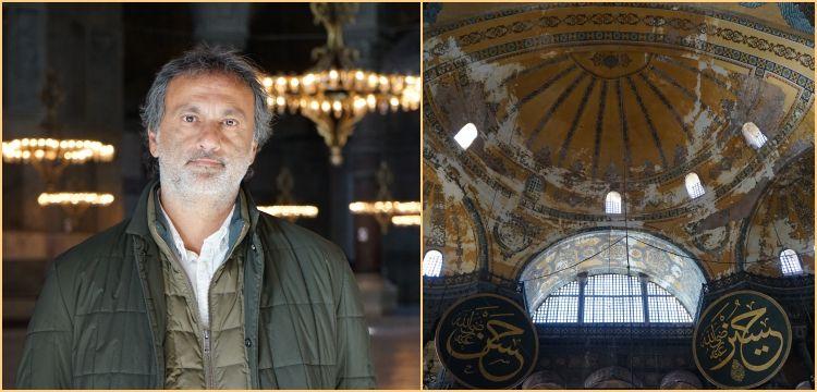 Ali Canip Olgunlu: Ayasofya'nın kubbesi Meryem Ana'nın Kutsal Kasesi'dir