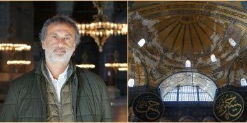 Ali Canip Olgunlu: Ayasofyanın kubbesi Meryem Ananın Kutsal Kasesidir