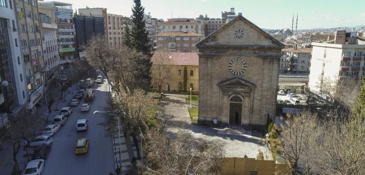 Gaziantepte tarihi konak Arkeoloji Enstitüsü olarak hizmet verecek