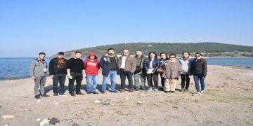 Bergamadan Smyrnaya Aliağa Kervan Yolu projesi çalışmaları başladı