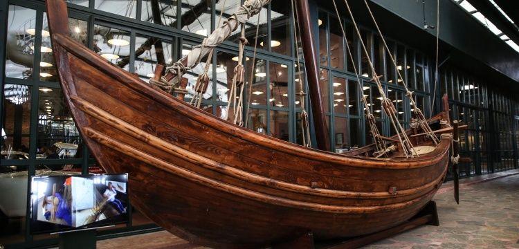 Yenikapı 12 gemisinin replikası Rahmi Koç Müzesinde sergileniyor