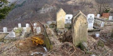Maçkadaki Osmanlı dönemi mezarında şaşırtan kaçak kazı