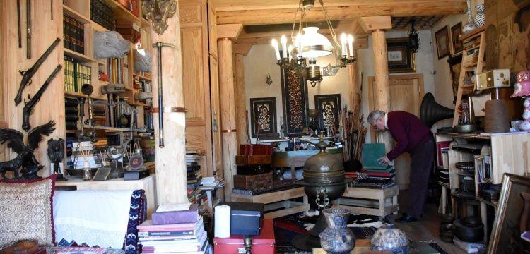 Kayseride restore ettirdiği tarihi evini müzeye çevirdi