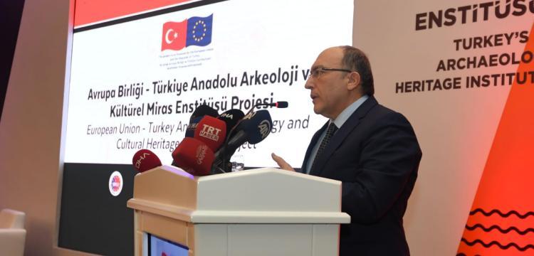 Ahmet Haluk Dursun: 3 arkeolojik kazı alanı Avrupa'ya sergilerle tanıtılacak