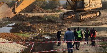 İznikte yol yapımı için yapılan kazıda tarihi mezar bulundu