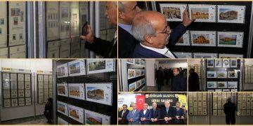 Göbeklitepenin tanıtımı için Şanlıurfada PTT Pulları Sergisi açıldı